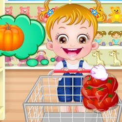 baby hazel shopping games